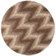 Donny Osmond Timeless by KAS Chevron Round Rug