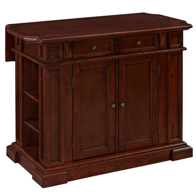 Kitchen Island Jcpenney bransford cherry kitchen island - jcpenney