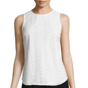 nicole by Nicole Miller® Lace Sleeveless Top