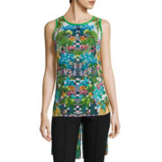 nicole by Nicole Miller® Sleeveless High Low Top