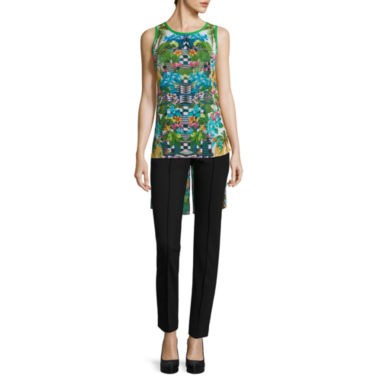 jcpenney.com | nicole by Nicole Miller® High Low Top or Ankle Pants