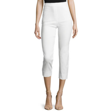 jcpenney.com | Liz Claiborne® Pull-On Cropped Pants