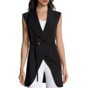 Liz Claiborne® Belted Vest