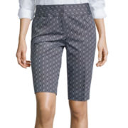Worthington® Sateen Bermuda Shorts