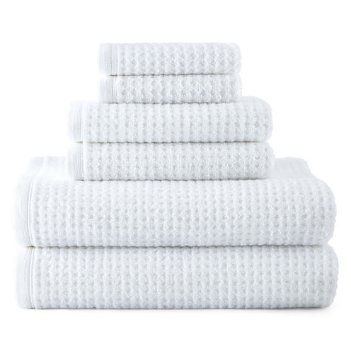 JCPenney Home™ Quick-Dri™ 6-pc. Bath Towel Set