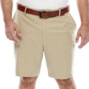 IZOD® Saltwater Flat-Front Shorts - Big & Tall