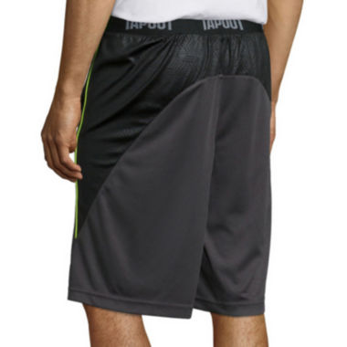 jcpenney.com | Tapout Printed Panel Flat-Front Training Shorts