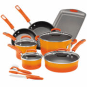 Rachael Ray® Hard Enamel Nonstick 14-pc. Cookware Set