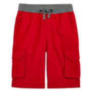Arizona Drawstring Cargo Shorts - Boys 8-20 and Husky