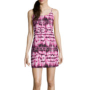 Decree® Sleeveless Strap Back Dress- Juniors