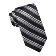 Stafford® Reno Stripe Silk Tie - Extra Long