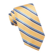 Stafford® Reno Stripe Silk Tie - Extra Long