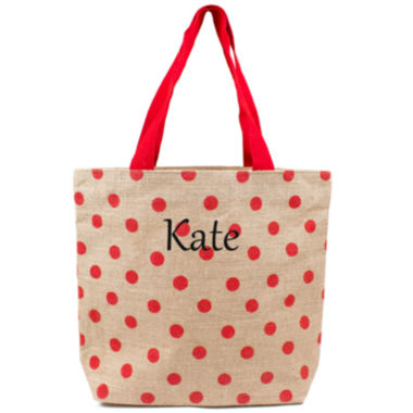jcpenney.com | Cathy's Concepts Personalized Polka Dot Tote