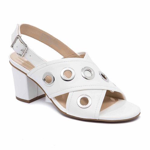 Andrew Geller Starrika Womens Wedge Sandals
