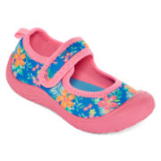 Carter's® Flora Pink Girls Mary Janes - Toddler