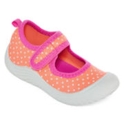 Carter's® Flora Orange Girls Mary Janes - Toddler