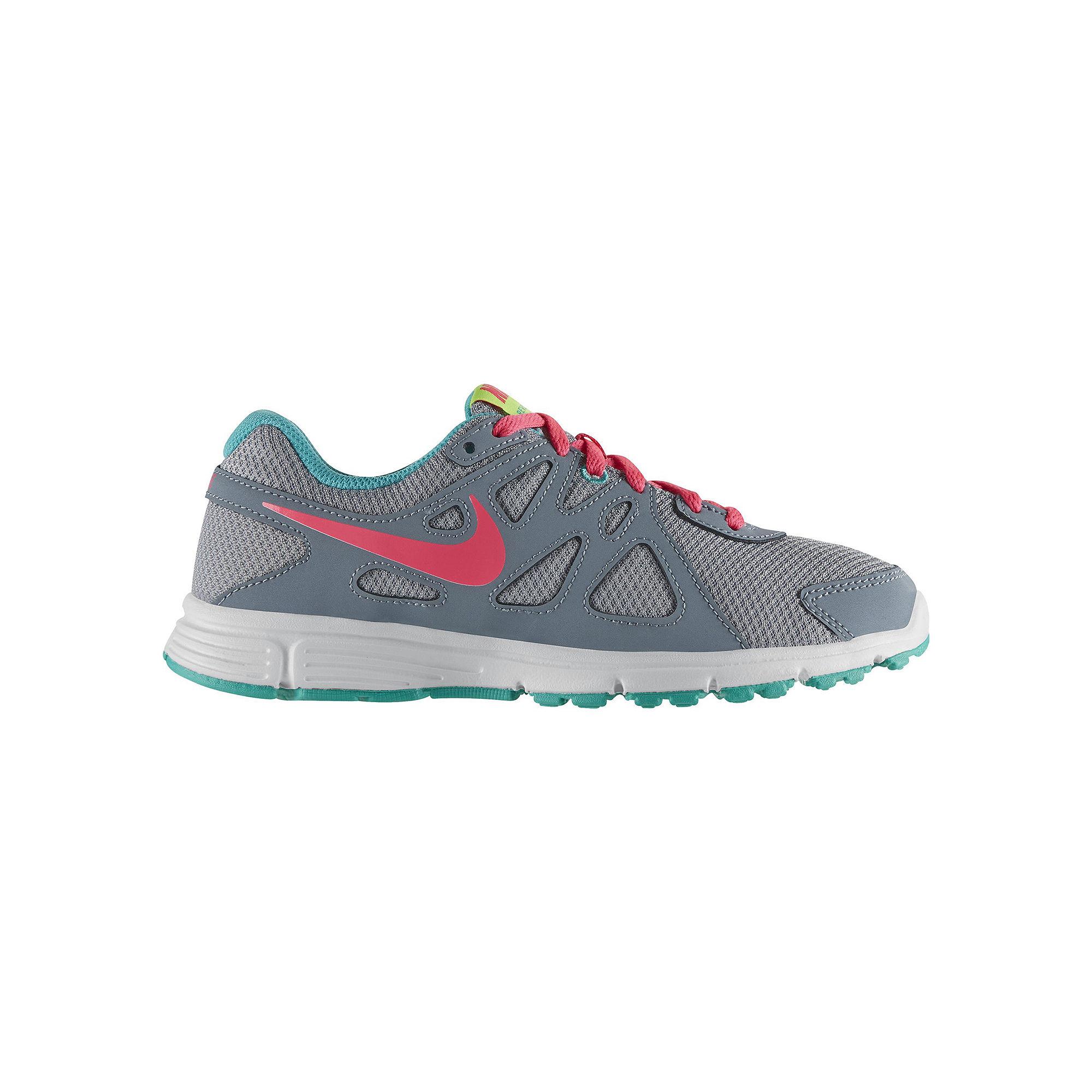 19033c684e ... UPC 884497565446 product image for Nike Revolution 2 Girls Athletic  Shoes - Big Kids   upcitemdb ...