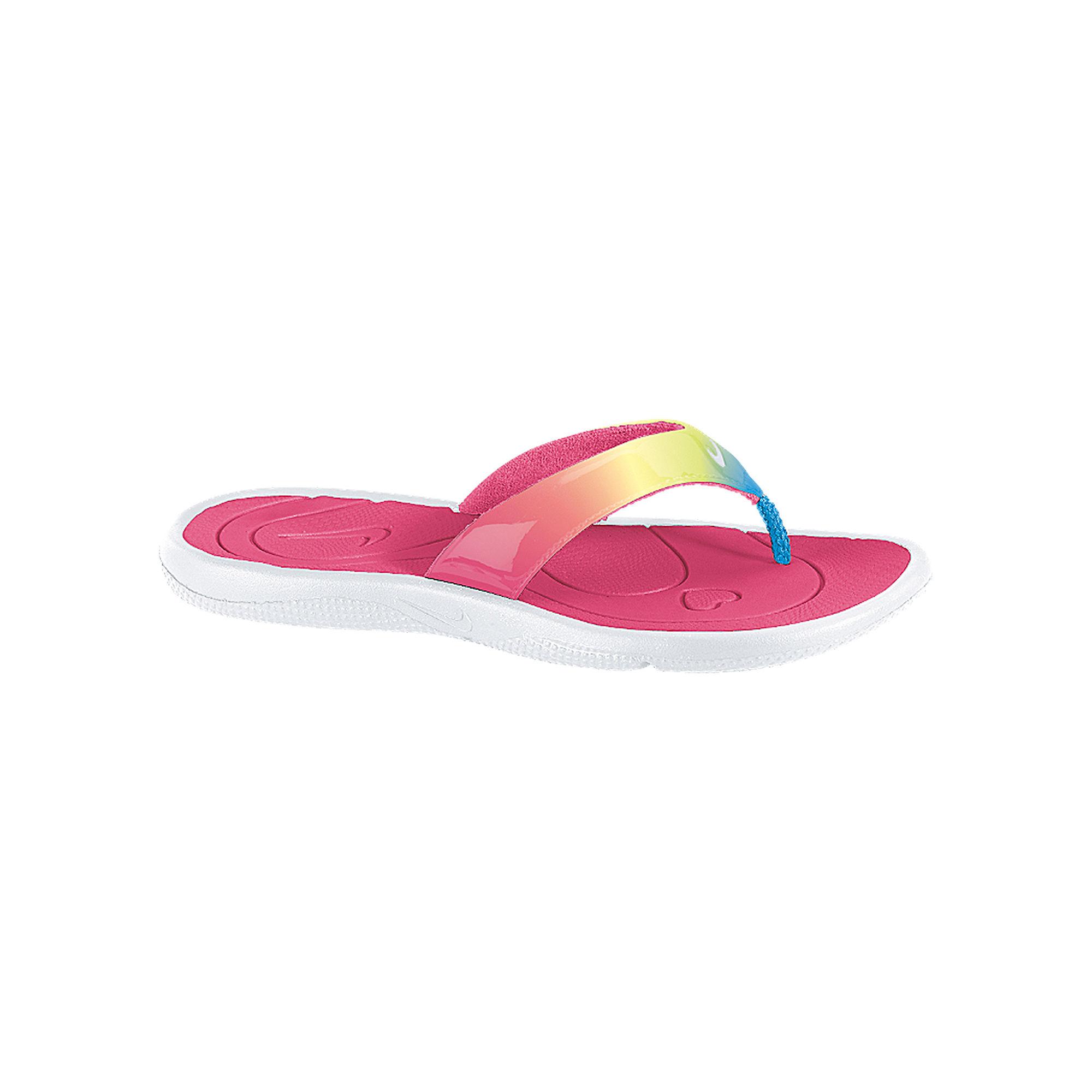 ff6dc82db84fd ... UPC 091205142572 product image for Nike Aqua Motion Girls Flip Flops -  Little Kids Big