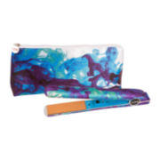 iCHI® Blue Nile Watercolor Flat Iron + Travel Bag
