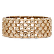 Monet® Rose-Tone Stretch Bracelet