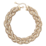 Monet® Rose-Tone Braided Necklace