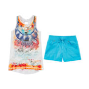 Arizona Tie-Back Tank Top or Camp Shorties - Girls 7-16 and Plus