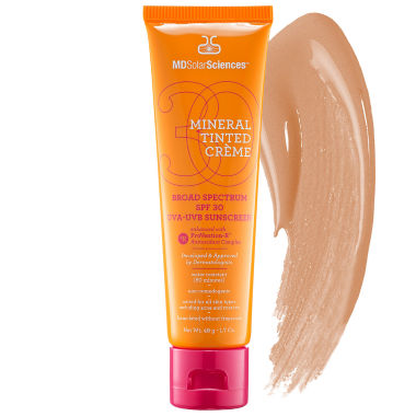 jcpenney.com | MDSolarSciences Mineral Tinted Crème Broad Spectrum SPF 30 UVA-UVB Sunscreen