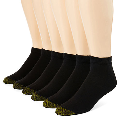 Gold Toe® 6-pk. Athletic Quarter Socks–Big & Tall