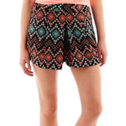 by&by Aztec Print Shorts