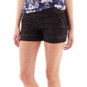 Boom Boom Four-Button Sailor Shorts