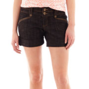 Boom Boom Two-Button Flap-Pocket Sailor Shorts