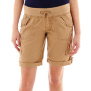 Unionbay® Knit-Waist Convertible Bermuda Shorts