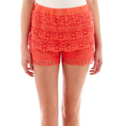 Olsenboye® Lace Tier Shorts