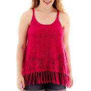 Arizona Sweater Tank Top - Plus