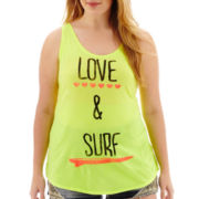 Arizona Cross-Back Graphic Tank Top - Plus
