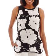 Liz Claiborne® Print Tunic Tank Top