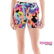 Worthington® Print Soft Shorts