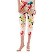 Worthington® Sateen Cropped Pants