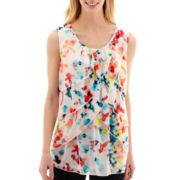 Worthington® Tiered Print Tank Top