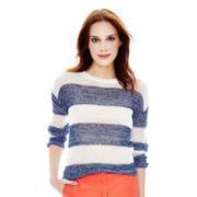 Joe Fresh™ Long-Sleeve Striped Sweater
