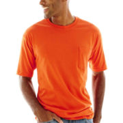 Stafford® Performance Heavyweight Pocket Tee–Big & Tall