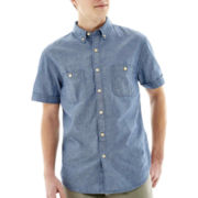 Arizona Short-Sleeve Chambray Workwear Shirt