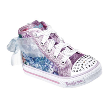 jcpenney.com | Skechers® Twinkle Toes Shuffles Girls High Top Sneakers - Toddler