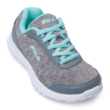 jcpenney.com | Fila® Lite Spring Heather Girls Running Shoes - Little Kids/Big Kids