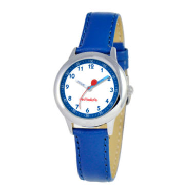 jcpenney.com | Red Balloon™ Boys' Blue Leather Strap Watch