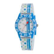 Red Balloon™ Boys' Blue Polka Dot Strap Watch