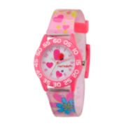 Red Balloon™ Girls Pink Heart Bracelet Watch