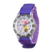 Red Balloon™ Girls Purple Bee Strap Watch