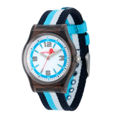 jcpenney.com | Red Balloon™ Kids Blue Striped Nylon Strap Watch