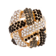 Mixit™ Tri-Tone Stone Stretch Ring